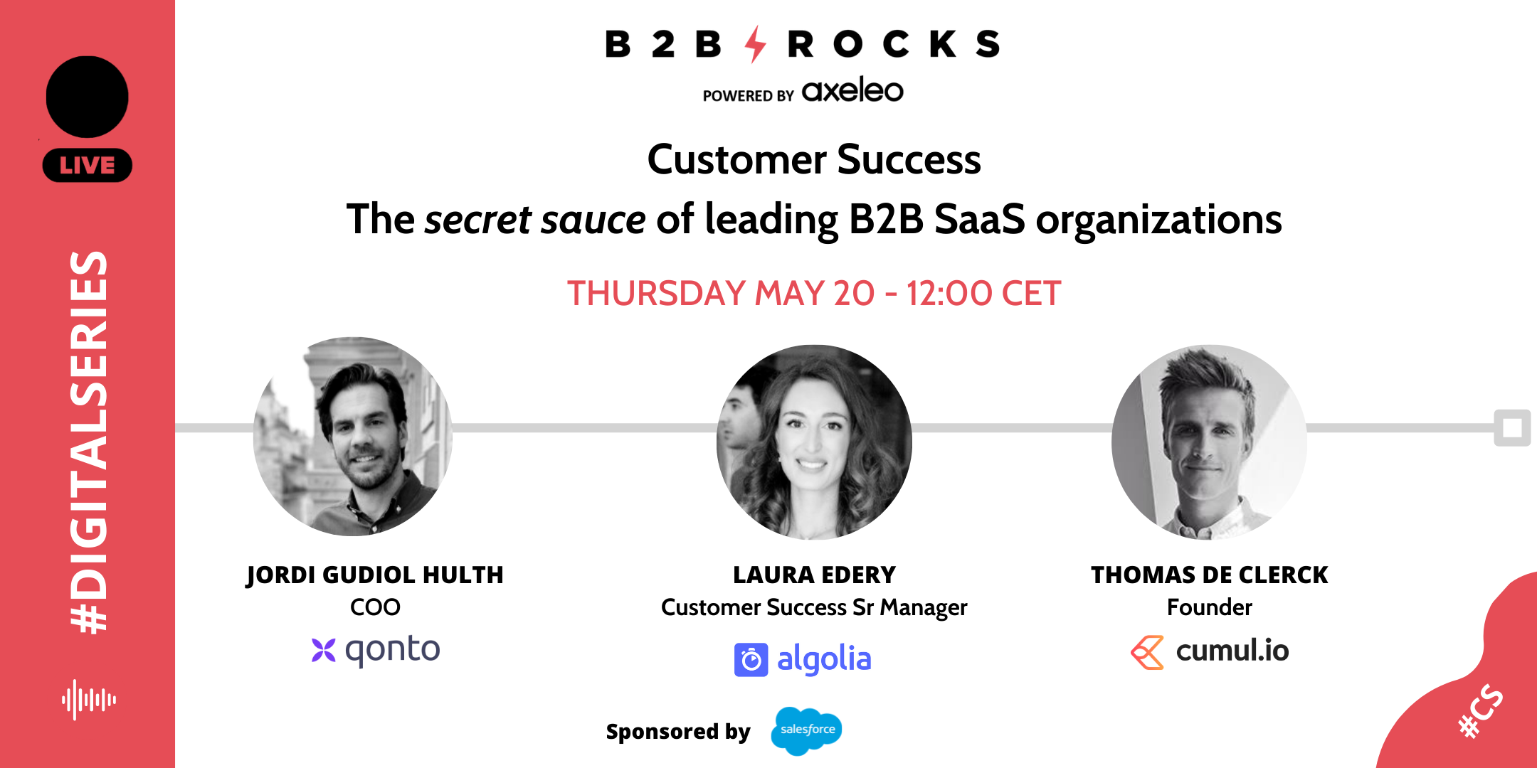 B2B Rocks Customer Sucess Speakers